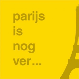Parijs is nog ver